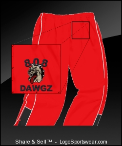 "808 ""DAWGZ"" (SPORT PANTS) (EMBROIDERED) Design Zoom"